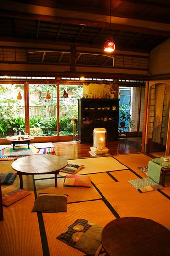 四季を通して昔ながらの日本らしい雰囲気を味わえる古民家カフェ「一花屋」で、ゆっくりと休日を過ごしてみてはいかがでしょうか。