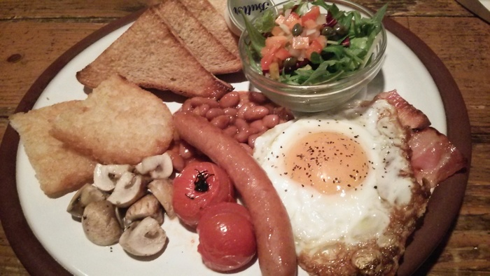 シャノンズはなんといってもアイルランドや西欧の料理が美味しい♪