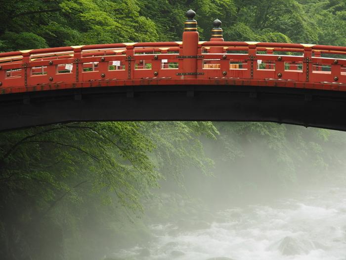 画像は縁結びのパワースポットと若返りの湧水で有名な「日光二荒山神社」。