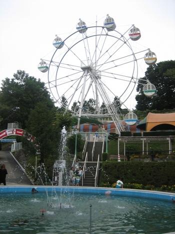 観覧車も、とってもレトロ☆遊園地の隣には、「桐生が岡動物園」もあります。桐生市が運営していますので、動物園も入場無料です。ゾウやペンギン、ライオンなど、125種・780もの動物が暮らしている本格的な動物園です。