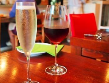 ワインのメニューの多さも、ワイン好きにはたまりません。