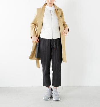 寒くてもう着れないと思っていたあのコートにも出番の予感。インナーダウンをフル活用して、真冬のコーディネートをもっと楽しみましょう。