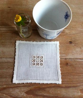 こちらは「デンマーク刺繍」のワークショップ。1DAYで完結するので、集中して学べそうですね。講師の先生はデンマークから来てくださるそうで、本場の刺繍が学べます。