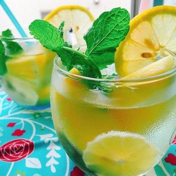 フルーツとリンゴ酢だけ、甘みを加えていないフルーツビネガーなので、真夏の暑い日にスッキリ♪