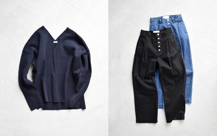 シンプル派さんも、モード派さんにもおすすめ。東京発ブランドがつくりだす新しいベーシック。