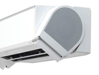 ヒミツは、従来のエアコンにない画期的な両サイドの「デュアルブラスター」からの気流。センターからの風だけでなく、左右から空気を取り込んで送り出します。暖房と冷房それぞれに合わせた運転で、温度ムラのない心地良さを感じることができます。天井の高い部屋や吹き抜け、横・縦長の部屋など、どんな間取りでも快適に過ごるのがうれしいですね。
