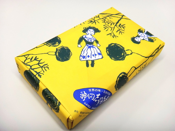 かわいらしい包み紙にくるまれているのは、稲荷ずし。
