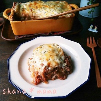 イタリアンが好きな人におすすめなのが、トースターで作るラザニア。 餃子の皮を使えば思い立った時に簡単に出来ちゃいます。