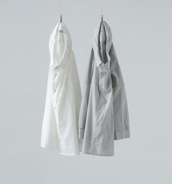 暖かくなったら、ニットやコートを脱いで、あなたも「オーバーシャツ」でお出掛けしてみませんか?