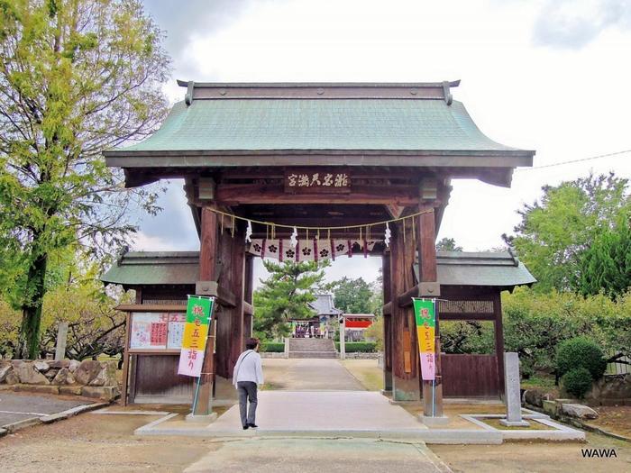 香川県では滝宮天満宮のみで行われている鷽かえ祭は、毎年4月24日に行われています。