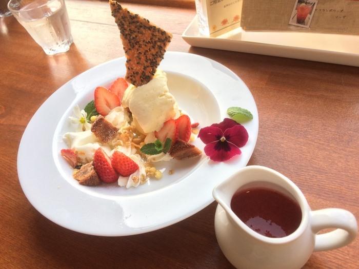 ☆★「ガーデン・カフェ」・・・香り高いフランスのフォションの紅茶が楽しめるカフェ。タオルギャラリーで遊んだ後は、是非ムーミンに会えるガーデン・カフェへ!