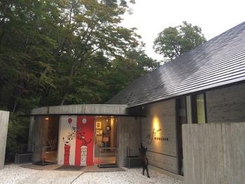 藤城清治美術館 /栃木県那須町・・・ 光の祈りの芸術作家・藤城清治コレクションを集めた「藤城清治美術館 那須高原」は、「生きて演じ動いていること、舞台と観客がひとつになり感動すること」を体感できる劇場型美術館です。いたるところに配置された、可愛い動物たちの光と影を感じるアート作品に、思わずにっこり!黒ネコちゃんがお出迎えしてくれます!