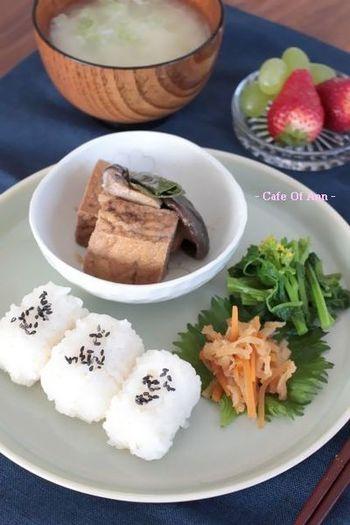 ぱくぱくと、和食は一口でつまめるサイズなのも嬉しいですよね♪
