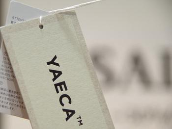 """""""八重日""""と書き、日々重ねていく日常服という意味を持つ「YAECA」。"""