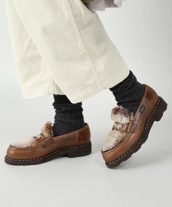 履きこんでいくうちに足になじんでいくパラブーツは、世代を問わず長く愛用できるものです。パラブーツでお気に入りの1足をみつけて下さいね。