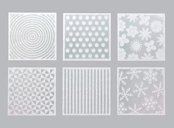 紙の一部が透けて見える、その名も『透け紙』。ボーダー柄や波紋柄など、他ではあまり見たことのない美しい透け感が楽しめます。