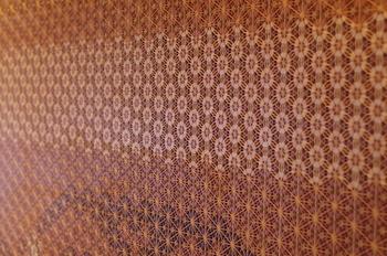 「桜」・・・由利本荘市の「桜」をメインにした様々な文様を織り交ぜた組子バリエーション。