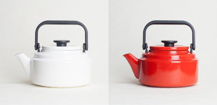 ホーロー製のお鍋やおやかんがある様に、そのまま直火でも使えるのもメリットの一つです。