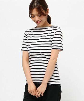 ルミノアの半袖シャツも品があっていいですね。