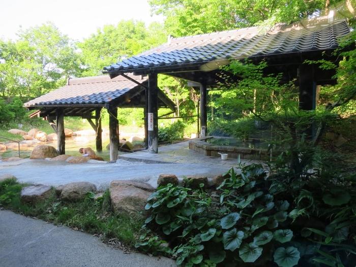 6軒の宿泊施設以外にも「出雲いりすの丘 ひかわ美人の湯」という日帰り温浴施設があるので、温泉めぐりも楽しめます。