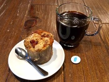 こだわりのコーヒーはオーダーが入ってから1杯1杯挽いてくれ、挽きたての味を楽しむことができます。
