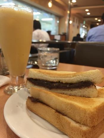 小倉トーストの本場 名古屋には、地元の人々に愛されるお店ががいっぱい。いろいろご紹介しましょう。