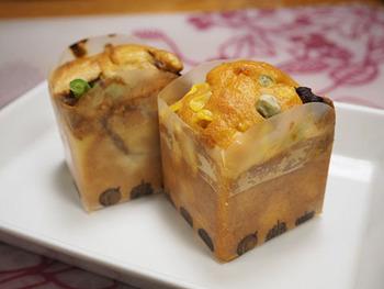 メニューは定番のオニオングラタンスープやビーフシチューなどに加え、季節限定メニューもあるんだとか。 かわいい見た目のおかずケーキは、ピクニックにも持っていきたくなります。