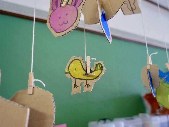 現在、保育士の奥様と小学生のお子さんがいらっしゃるというアミイゴさんのワークショップは、大人も子どもも夢中になれると大人気です。