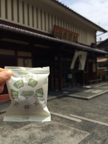 京都で大正時代から愛されている銘菓です。近年京都みやげとして知名度が上がってきているようです。