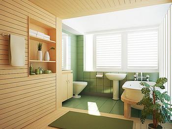 バスルームのタイルの隙間の黒ずみやぬめりは、ついてしまうとお掃除が意外に大変です。  バスルームを使うたびに、ささっと冷水シャワーで壁を流せば、湿気もたまりにくく、付着した石鹸やシャンプーも洗い流せます。