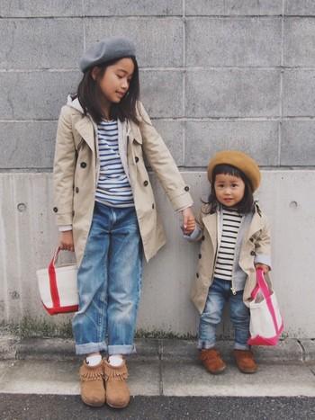 お子さんにもオススメのかわいらしいミニトート☆小さい手にも持ちやすいサイズ感で◎姉妹で色違いにしたり、選び方は無限大!
