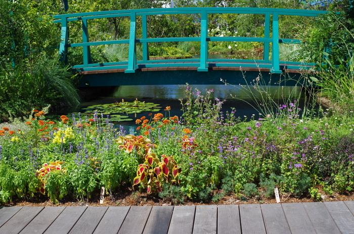西武池袋本店の9階の屋上に2015年4月29日オープンした「食と緑の空中庭園」。園内には、四季折々のさまざまな種類の草花が咲き乱れています。