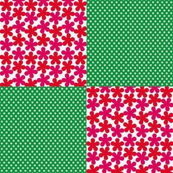 オリガミオリガミは15センチ×15センチの正方形。そのまま使うのもいいですし、こんな風に貼り合わせれば大きなサイズの物だって包めます。