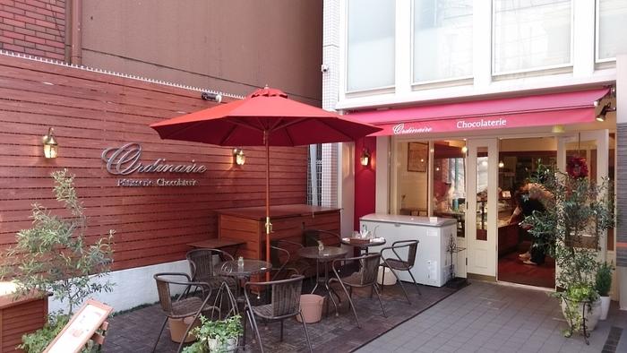 堀江で美味しいケーキが食べたいならここ!イートインスペース完備の「パティスリー ショコラトリー オーディネール」は、地元の人はもちろん、遠方から訪れる人もいる人気店です。