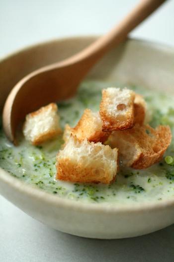 こんな風にスープにトッピングすれば、見た目もおしゃれで食べ応えもアップ!