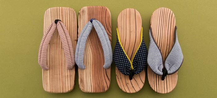 杉の産地として知られている日田市で作られている日田下駄は、江戸時代から愛され続けている伝統的特産品です。