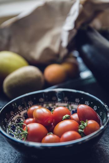 栄養価も高く付け合わせとして最適なトマト。赤色の食材は、人間の食欲を増進させる効果があるといわれています。ちょっとプラスするだけで美味しそうなお弁当になるので、必ずひとつは入れたい色です。
