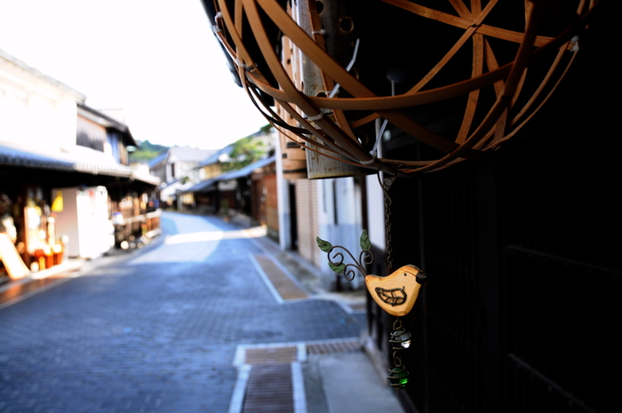 廻船業、塩田経営、酒造業で栄えた「竹原」。高台からこの町を見下ろせば、情緒溢れる甍の美しい波を眺めることができます。  「竹原」は歴史に埋もれることなく、今も酒造は盛んに行われ、この町を守りつつ育ててきた地元の人々が、この美しい甍の屋根の下に暮らしています。「竹原」は、連綿と歴史を紡いできた人々の体温をも伝える町です。  広島に足を運ぶのなら、ぜひ「竹原」にも立ち寄り、風情ある「町並み保存地区」を巡り歩いて下さい。きっと、温かで心和む一時を味わえるはずです。