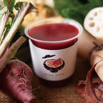 しかし見た目はポタージュでも、中身と味はこれまで私たち日本人が慣れ親しんできた味噌の旨味を絶妙にブレンドし、具材もたっぷり使った、懐かしい味わいのお味噌汁なんです。