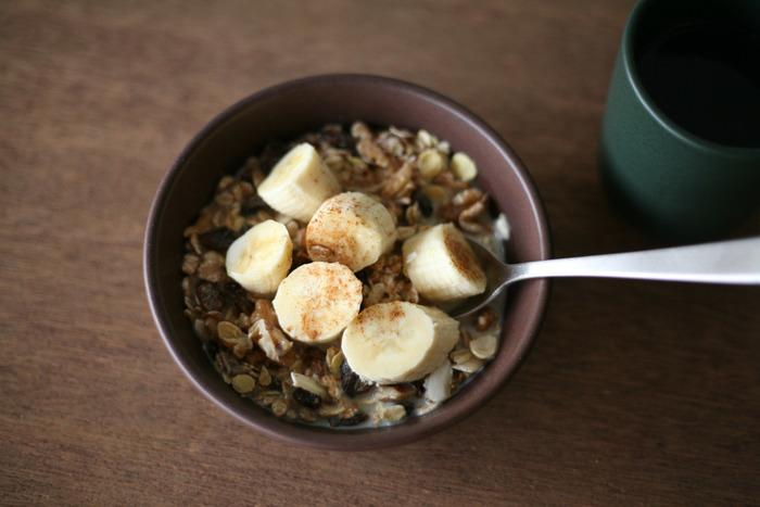 朝食にシリアルを食べる方は、シリアルボウルでちょっとオシャレな朝食に♪