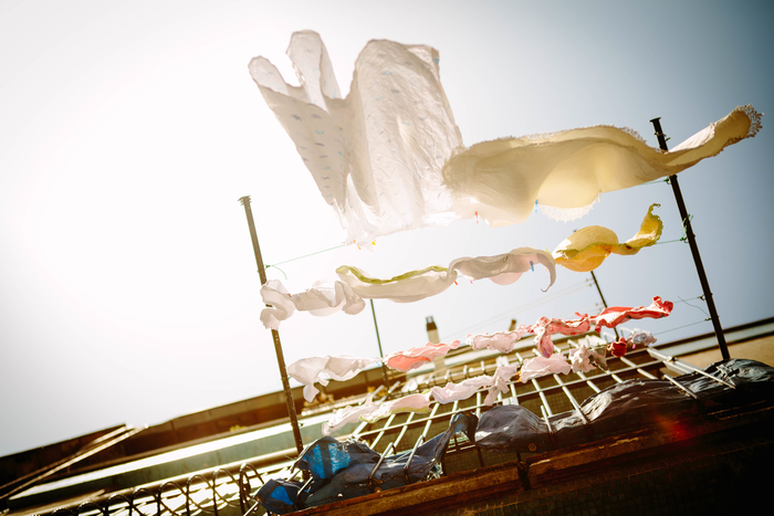 ただいつもの洗剤で洗濯をするよりも、汚れの落ちや殺菌効果が目に見えて実感できる「煮洗い」。洗ったあとの気持ちよさもひとしおです。