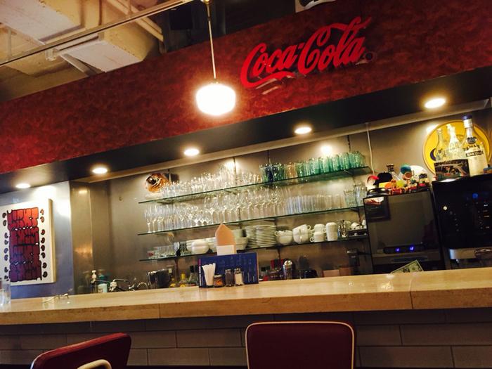 カフェのようなお店は、女性ひとりでも入りやすいですよ♪