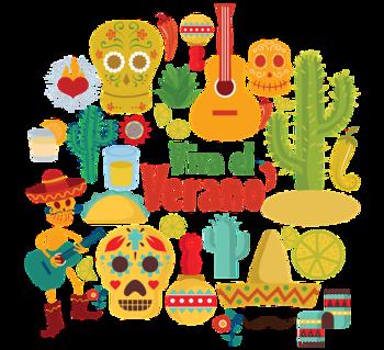 メキシコの雰囲気抜群のこんなイラストで、お手製フォトプロップス作りはいかが? つい料理を食べることも忘れて、写真タイムがはじまっちゃうかも。 その他、グラスやウォールデコにも◎