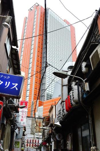 オレンジ色のキャロットタワーが見えてきたら、終点「三軒茶屋」に到着です。