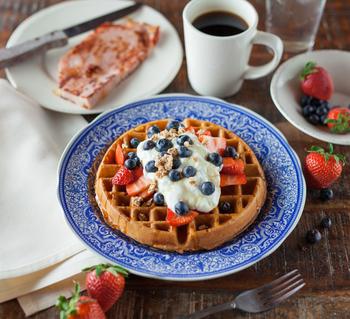 せっかくの早起き。時間をかけて、【気分の上がる】朝ごはんを楽しむのもいいかも?少量の食事を回数を増やして摂る事で血糖値の低下を防ぎ、感情を安定させてあげるのもレジリエンスの向上に良いそうですよ。