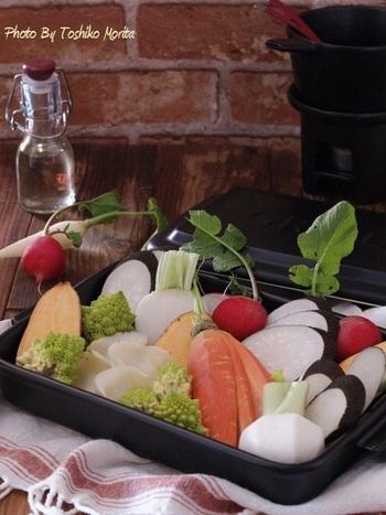 人参、大根、さつまいも…お好みの冬のお野菜で楽しんでみて下さい!