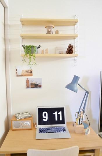 広く見せたいがために、何も飾れなくなってしまうと寂しい空間に…ディスプレイスペースもちゃんと作りましょう。
