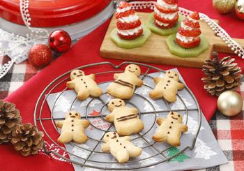 こちらは、ホットケーキミックスを使い、トースターで焼き上げる簡単なジンジャークッキー。生姜のはちみつ漬けを使えば、より手間が省けますね。忙しくて時間が取れない方におすすめです。