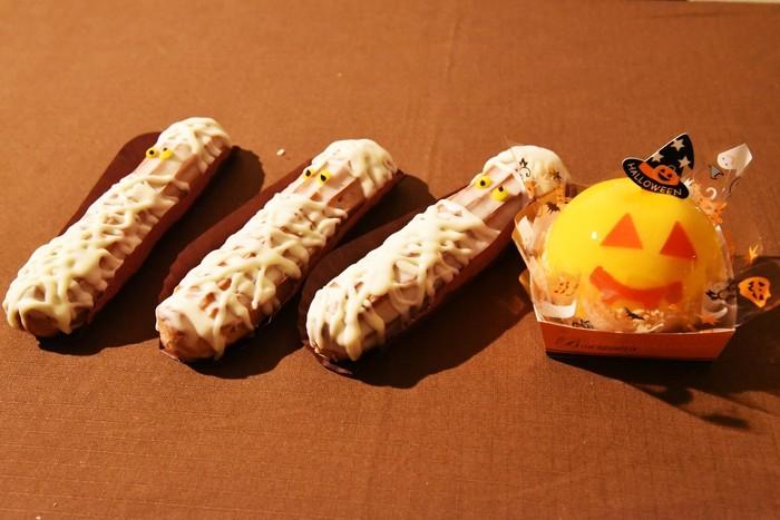 ハロウィンにはこんな可愛らしいお菓子たちも♪