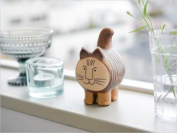 「猫目」じゃないお顔と筒のような体が特徴的な「dieci(ディエチ) cat」。日本の輸入元限定で作られているオリジナルアイテムです。